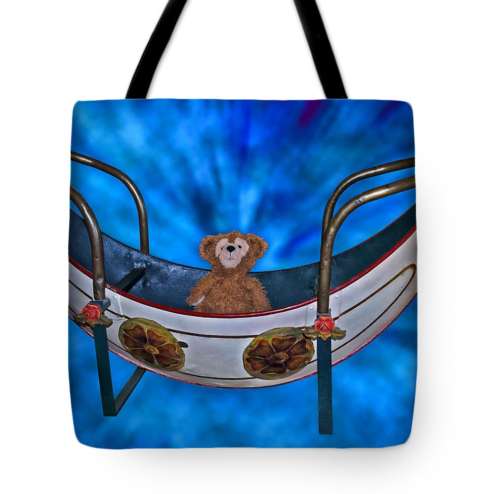Fantasy Tote Bag featuring the photograph Gondola Bear by Thomas Woolworth