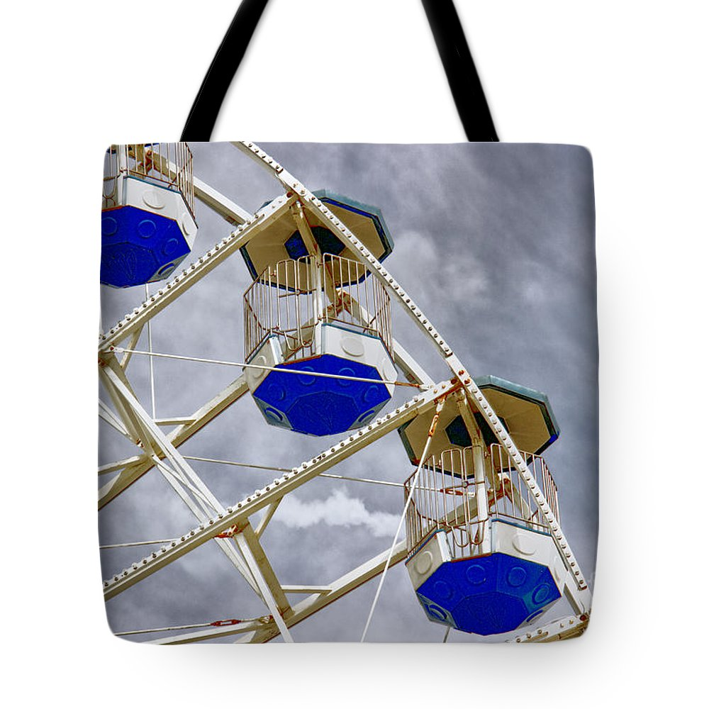 Outdoors Tote Bag featuring the photograph Gondolas by Tom Gari Gallery-Three-Photography