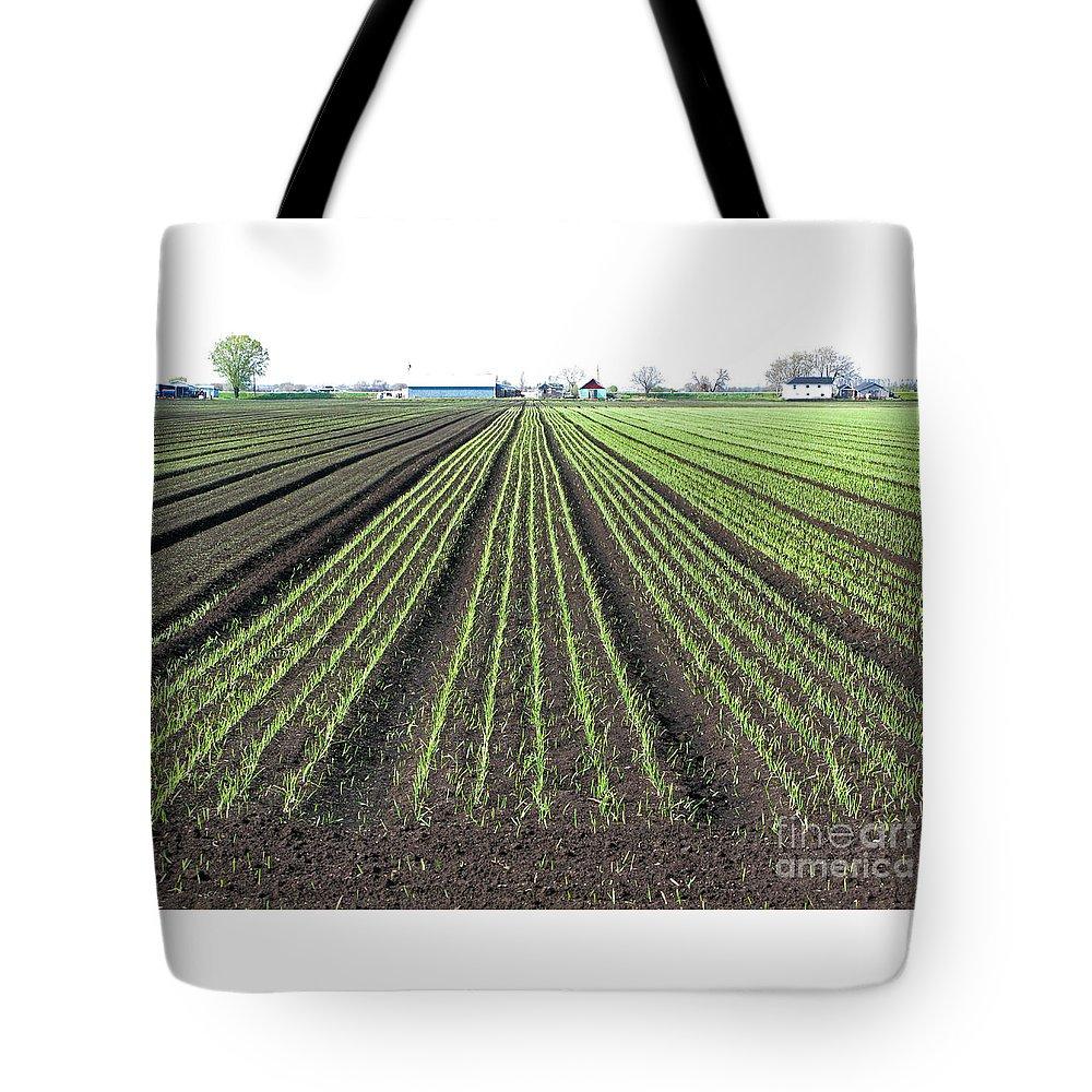 Farm Tote Bag featuring the photograph Good Earth by Ann Horn