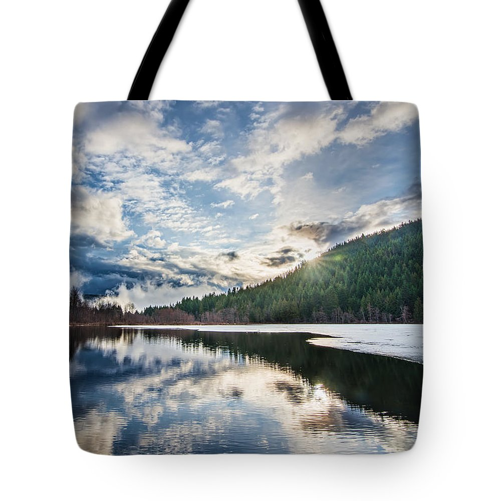 Beautiful Tote Bag featuring the photograph Good Morning Pemberton by James Wheeler