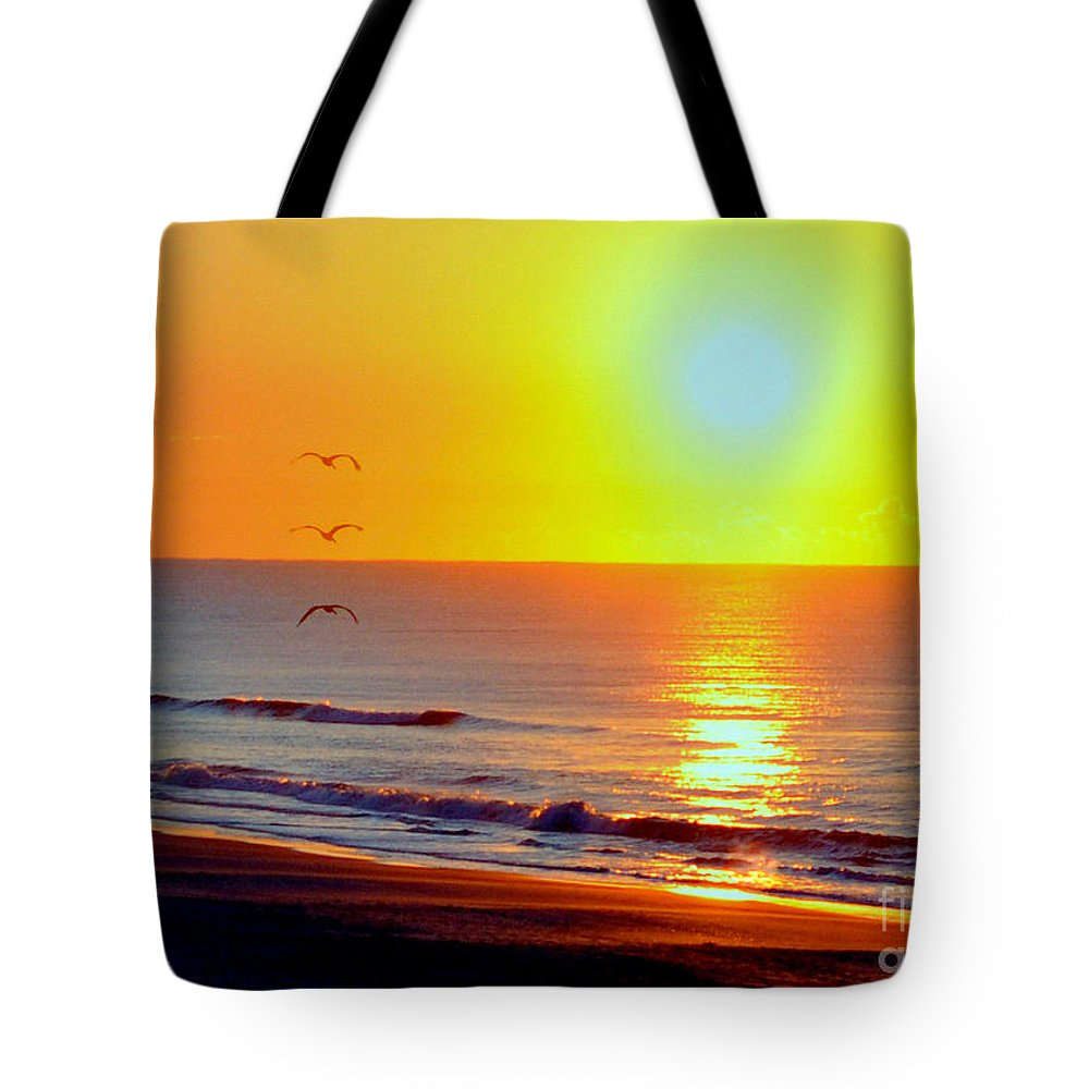 Morning Tote Bag featuring the photograph Good Morning Sunshine by Lydia Holly