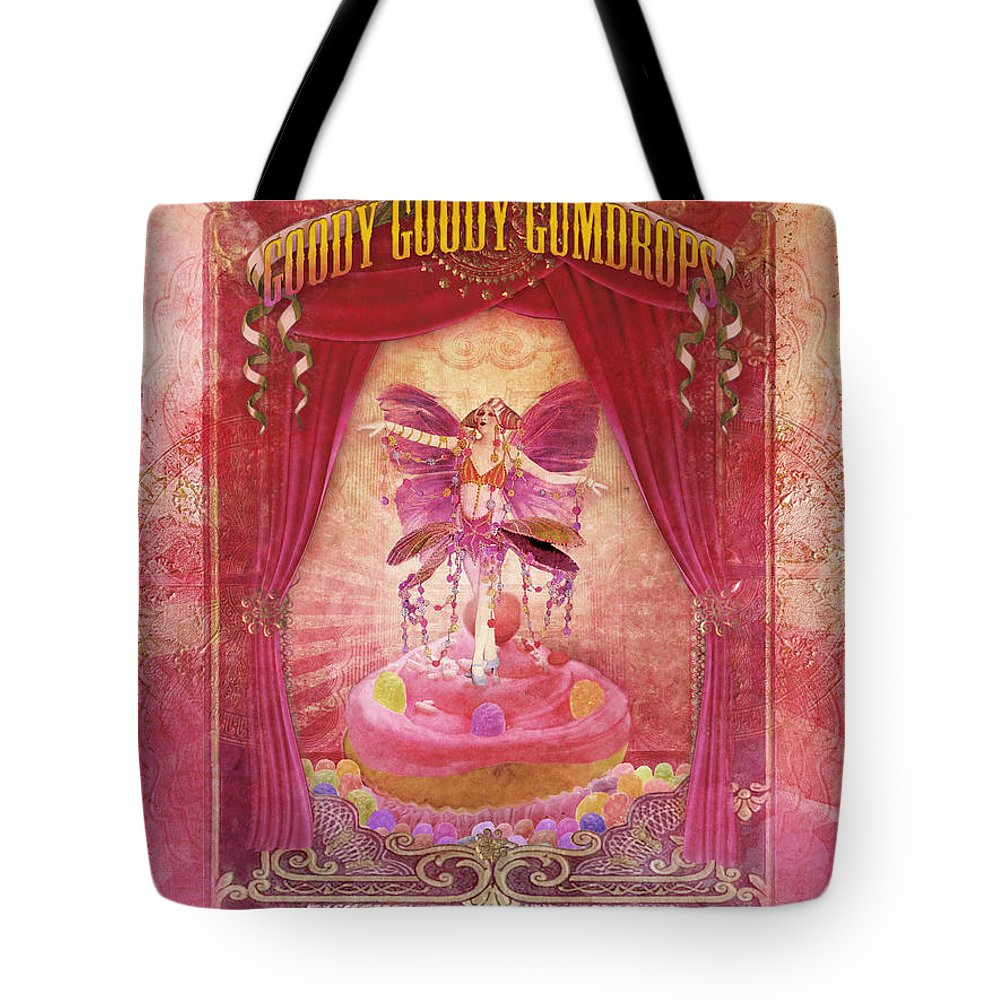 Aimee Stewart Tote Bag featuring the digital art Goody Goody Gumdrops by Aimee Stewart