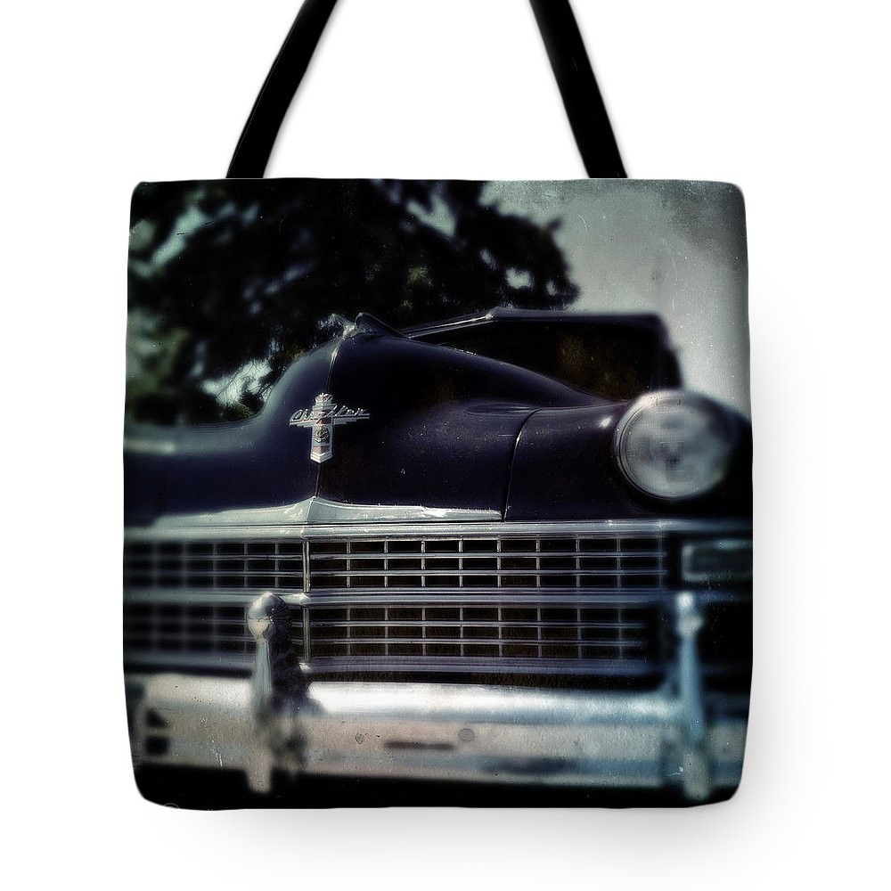 Chrysler Tote Bag featuring the photograph Got Me A Chrysler 2 by Tim Nyberg