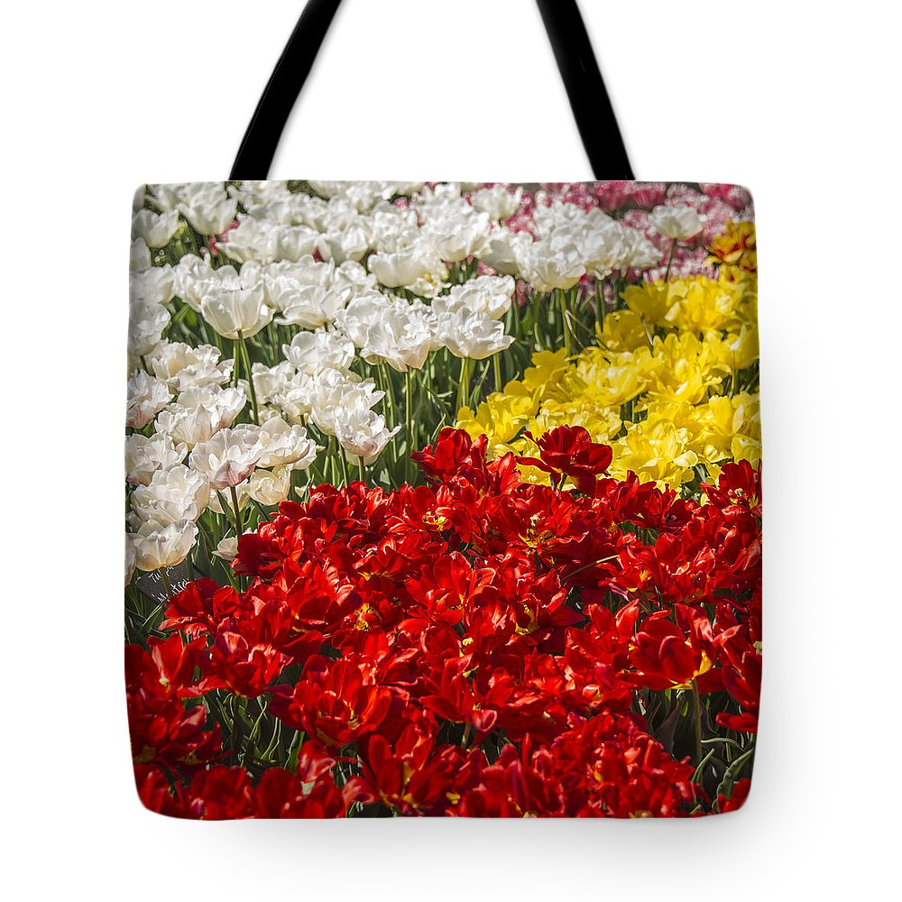Floral Tote Bag featuring the photograph Got Nothing On You by Theodore Jones
