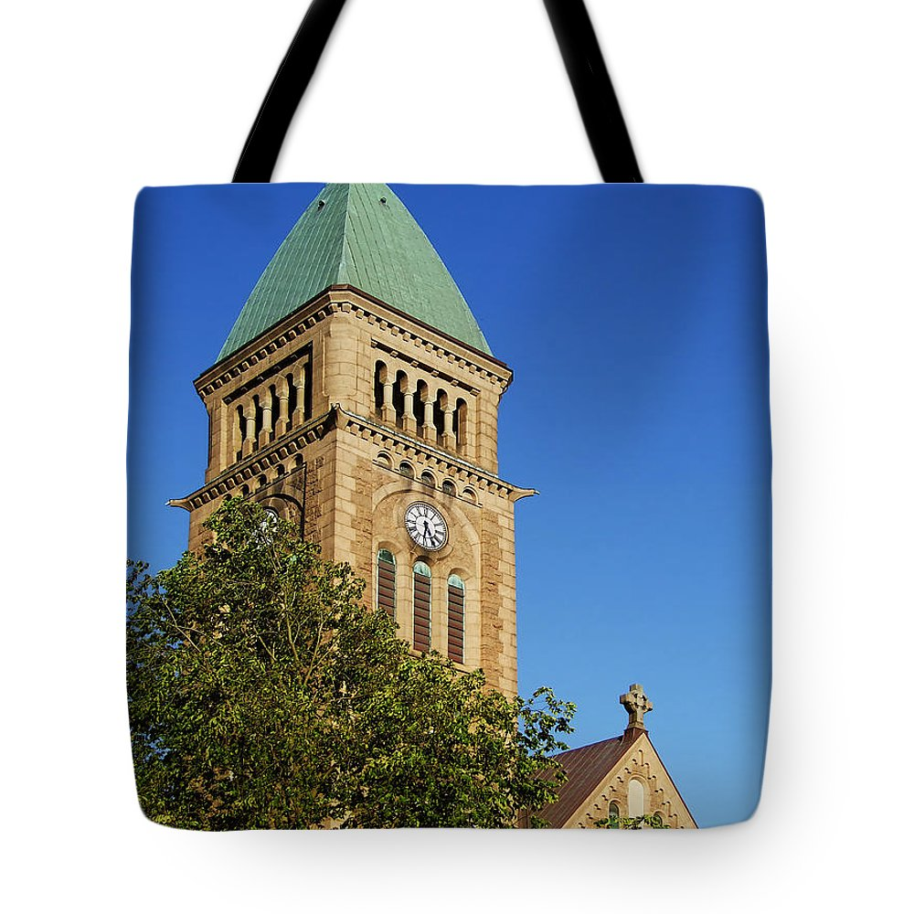 Church Tote Bag featuring the photograph Gothenburg Church 05 by Antony McAulay