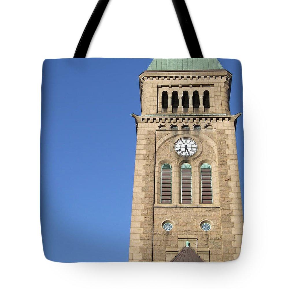 Church Tote Bag featuring the photograph Gothenburg Church 08 by Antony McAulay