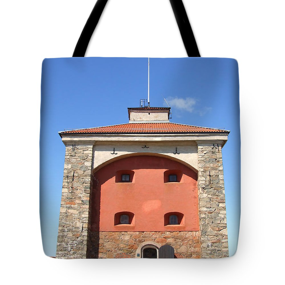 Abandoned Tote Bag featuring the photograph Gothenburg Fortress 07 by Antony McAulay