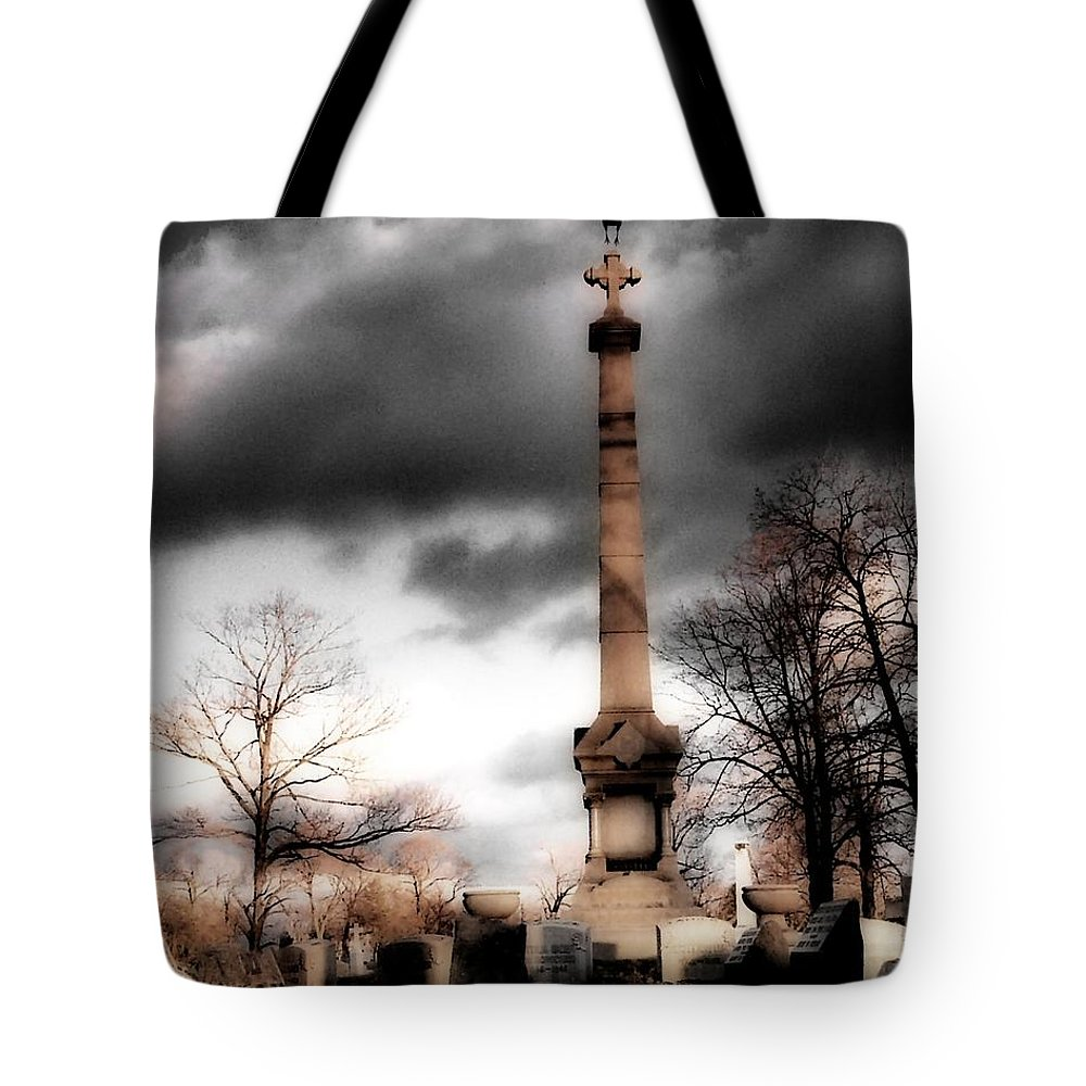 Surreal Tote Bag featuring the photograph Gothic Clouds by Gothicrow Images