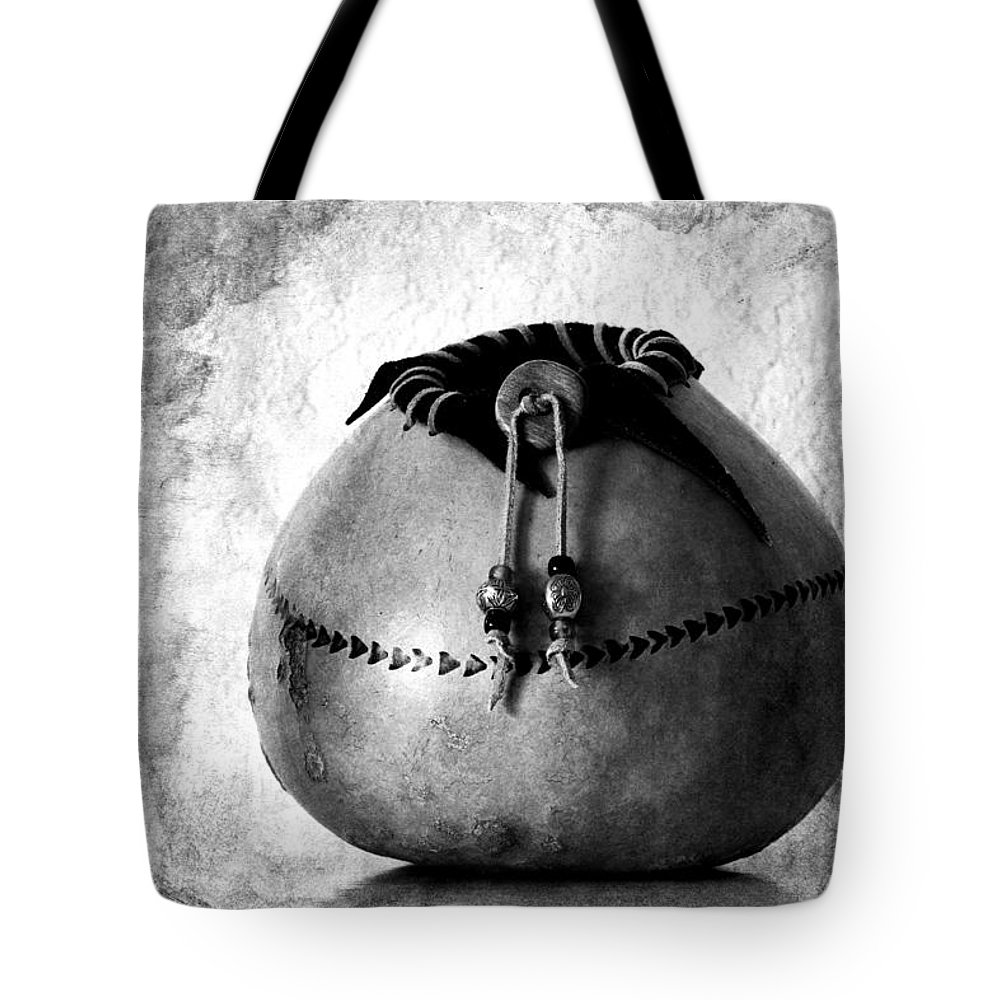 Gourd Tote Bag featuring the photograph Gourd Art No. 1 by Carol Leigh