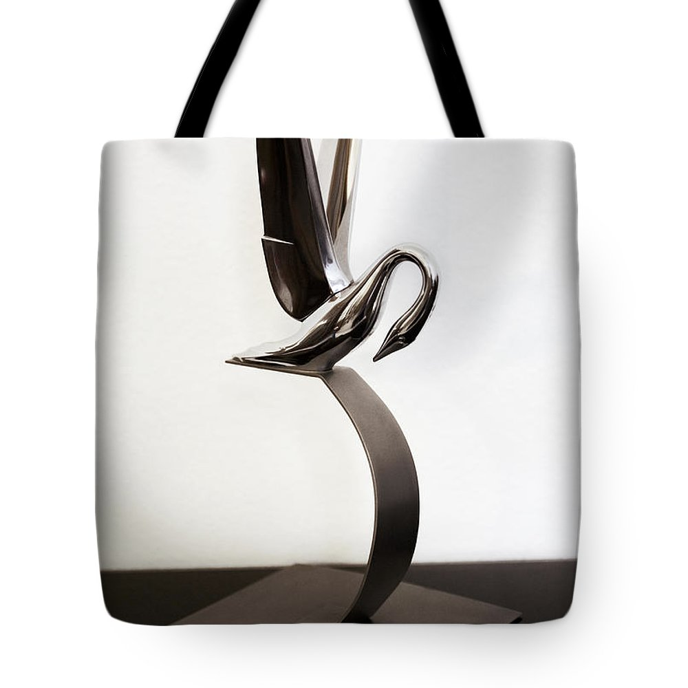 1940s 1950s Tote Bag featuring the photograph Grace In Chrome by Marilyn Hunt