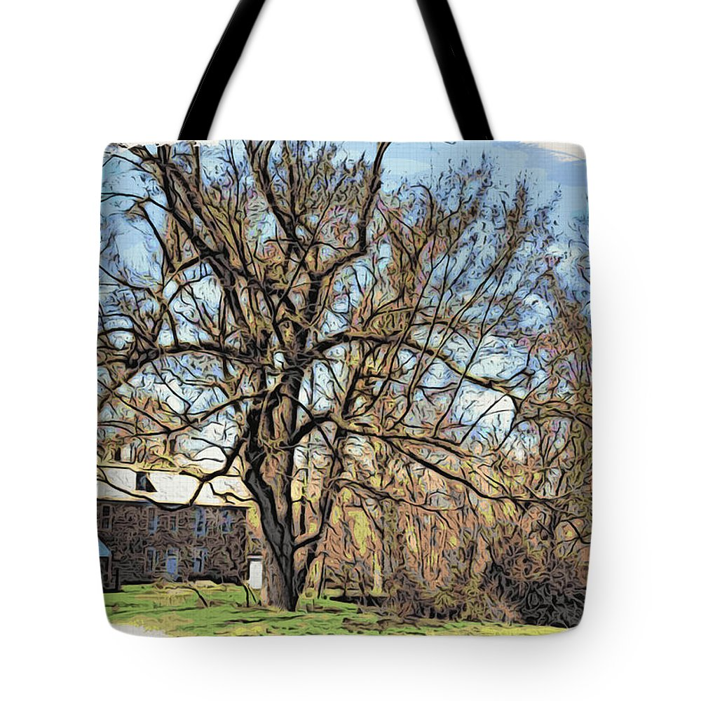 Graeme Park Tote Bag featuring the photograph Graeme Park Scenic by Alice Gipson