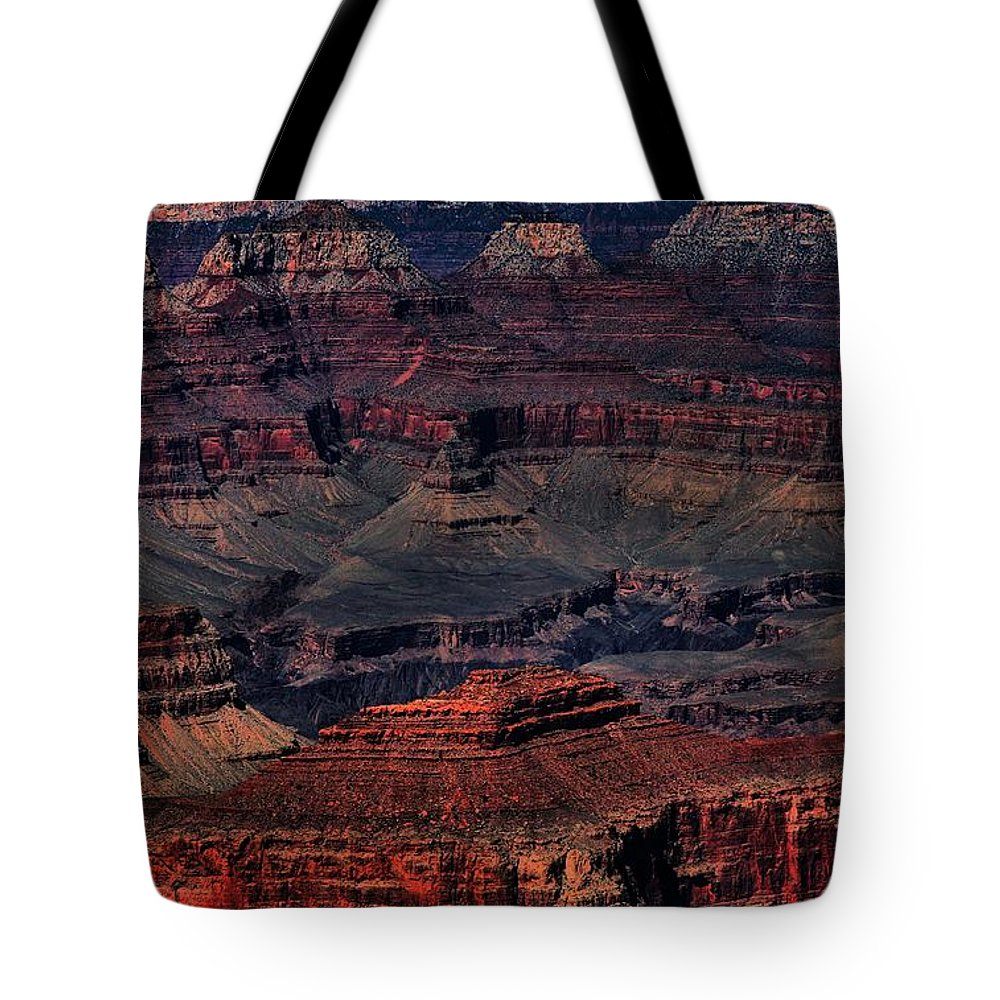 Landscapes Tote Bag featuring the photograph Grand Canyon 2 by Robert McCubbin