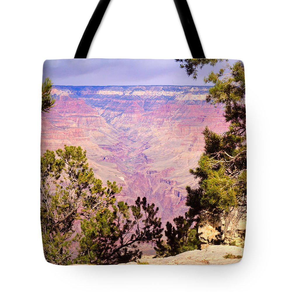 Grand Tote Bag featuring the photograph Grand Canyon 37 by Douglas Barnett