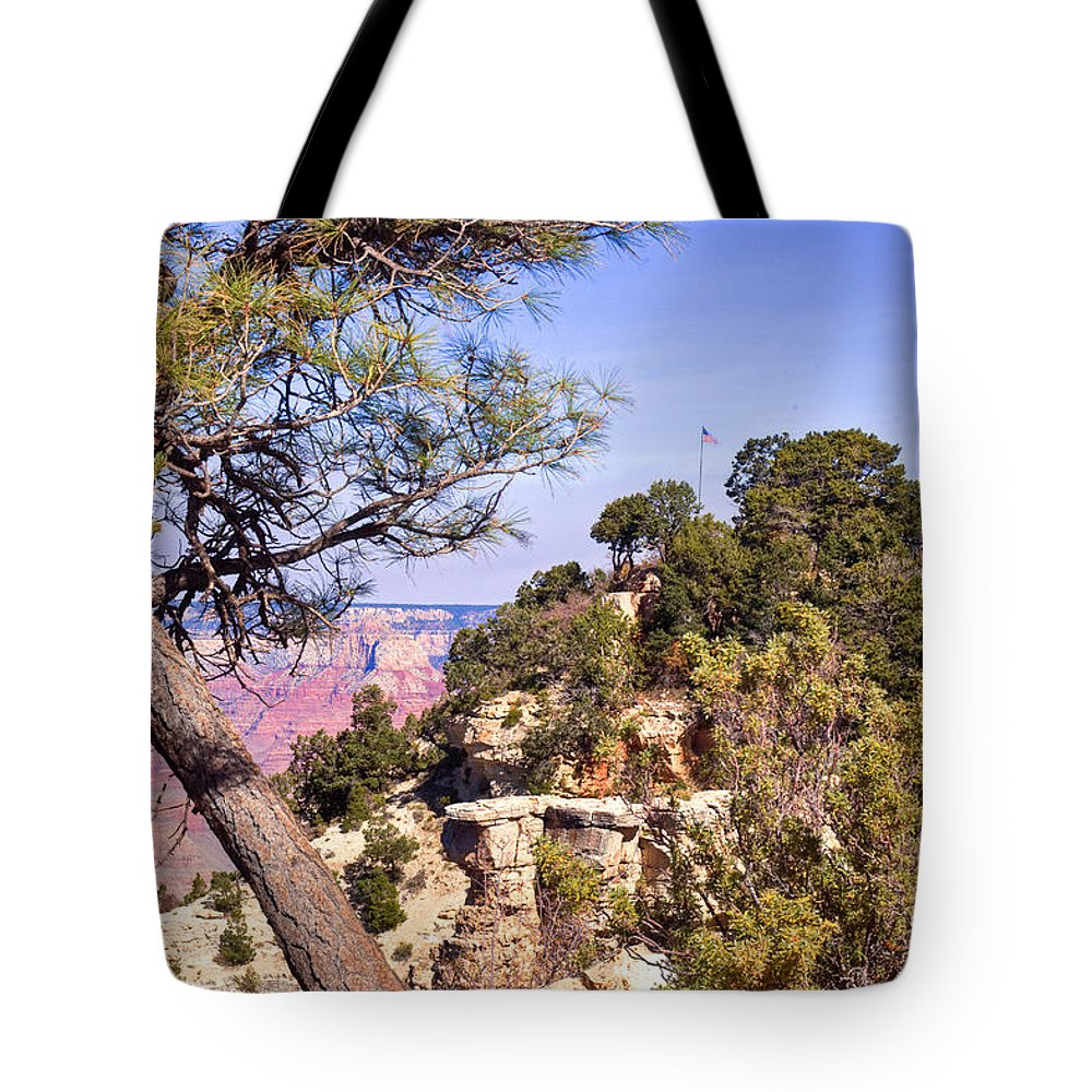 Grand Tote Bag featuring the photograph Grand Canyon 40 by Douglas Barnett