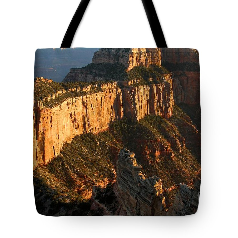 Grand Canyon Tote Bag featuring the photograph Grand Canyon Cape Royal by Adam Jewell