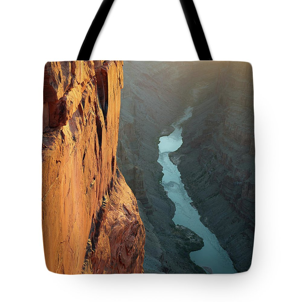 Scenics Tote Bag featuring the photograph Grand Canyon Toroweap Point Morning by Kjschoen