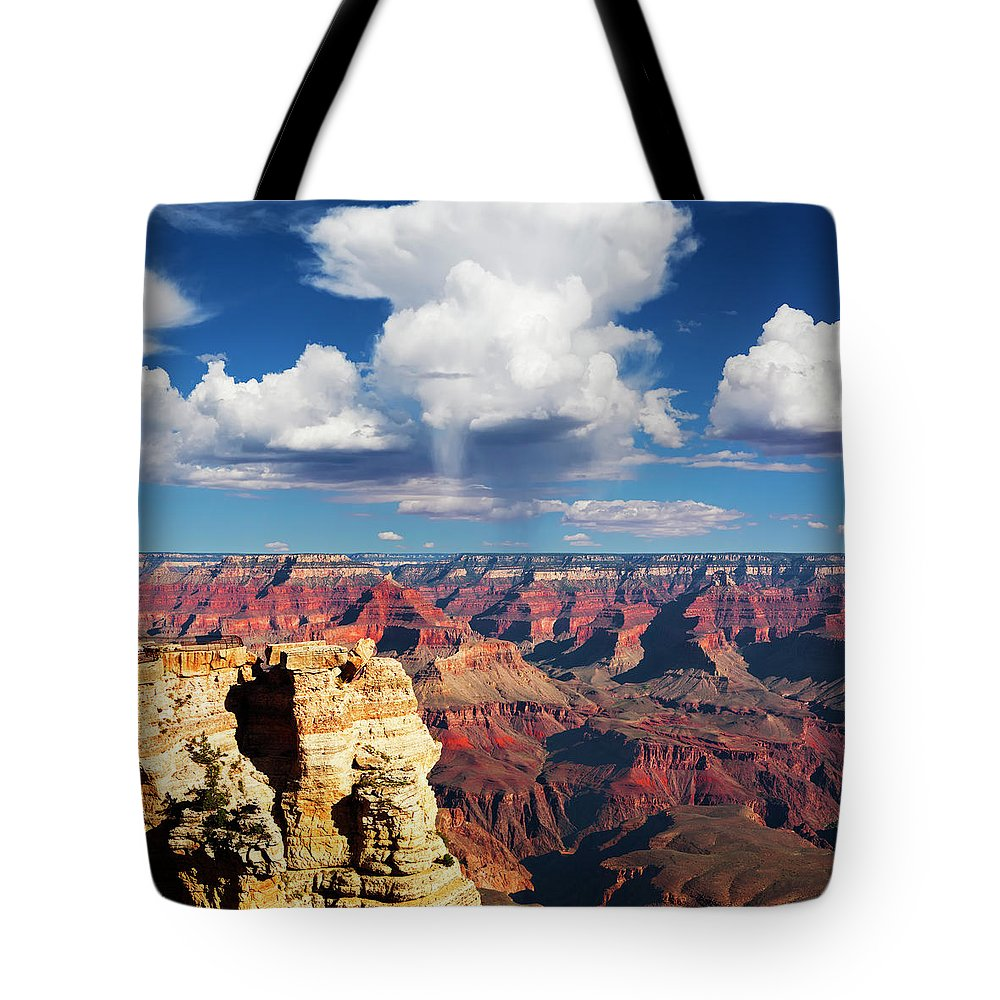 Scenics Tote Bag featuring the photograph Grand Canyons by Lucynakoch