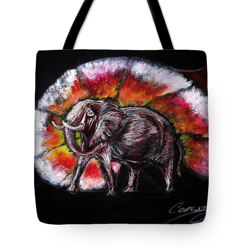 Wild Tote Bag featuring the drawing Grand Designs For Life On Earth by Tom Conway