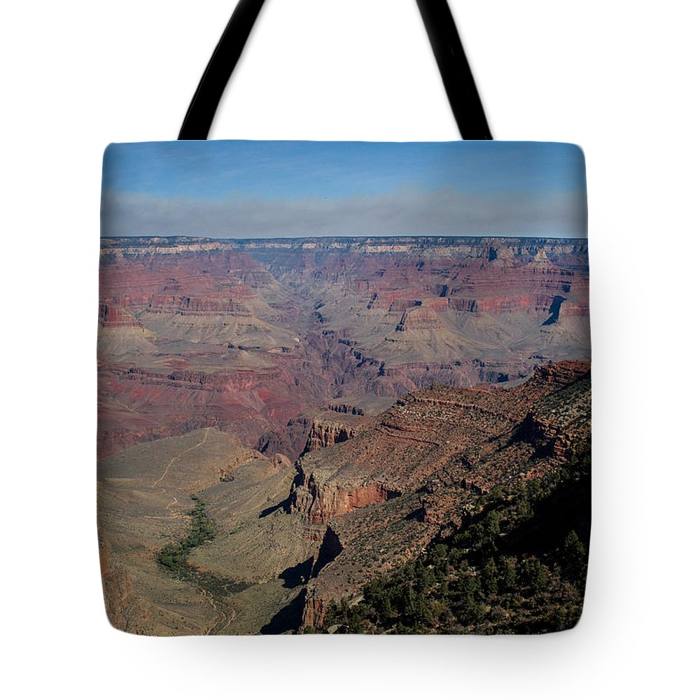 Grand Tote Bag featuring the photograph Grande Canyon Afternoon by Douglas Barnett