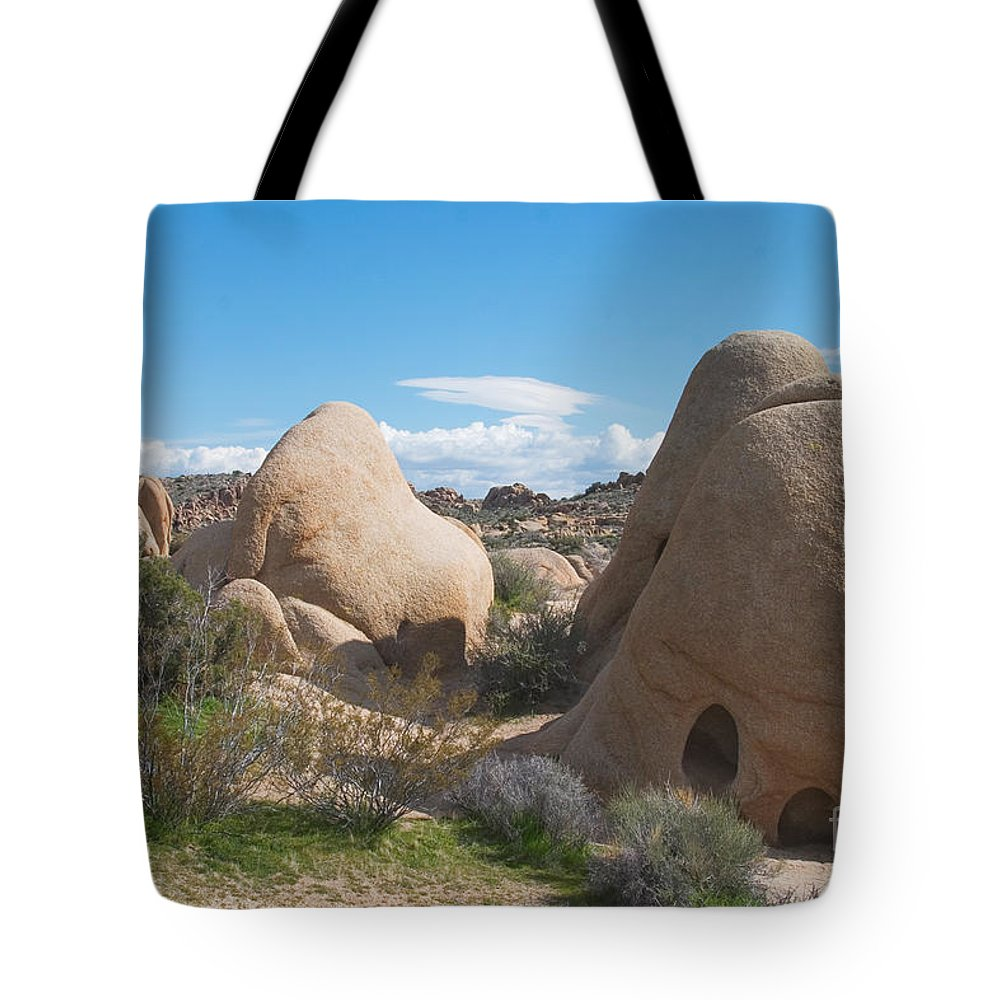 Boulder Tote Bag featuring the photograph Granite Rock Formations by David Davis