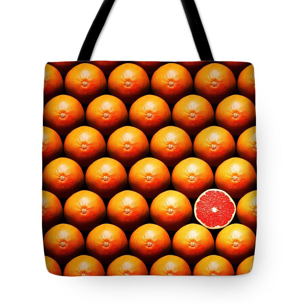 Grapefruit Tote Bags