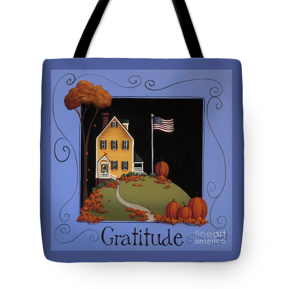 Art Tote Bag featuring the painting Gratitude by Catherine Holman
