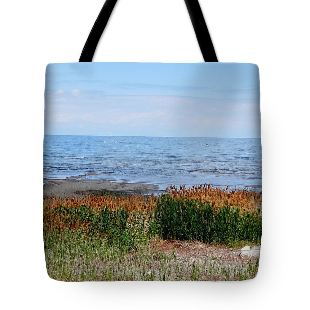 Salt Lake Photographs Tote Bag featuring the photograph Great Salt Lake by Dan Sproul