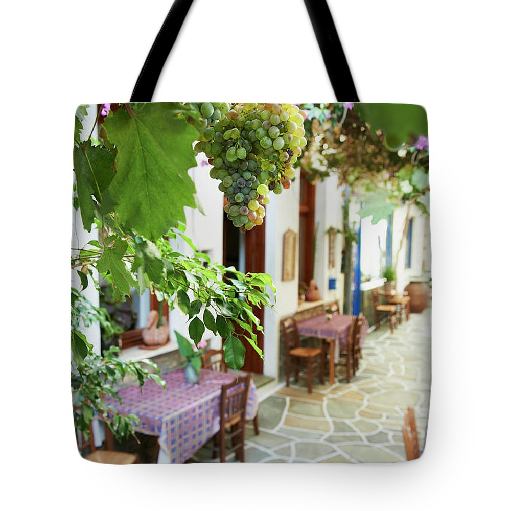 Tranquility Tote Bag featuring the photograph Greece, Cyclades Islands, Kythnos by Tuul & Bruno Morandi