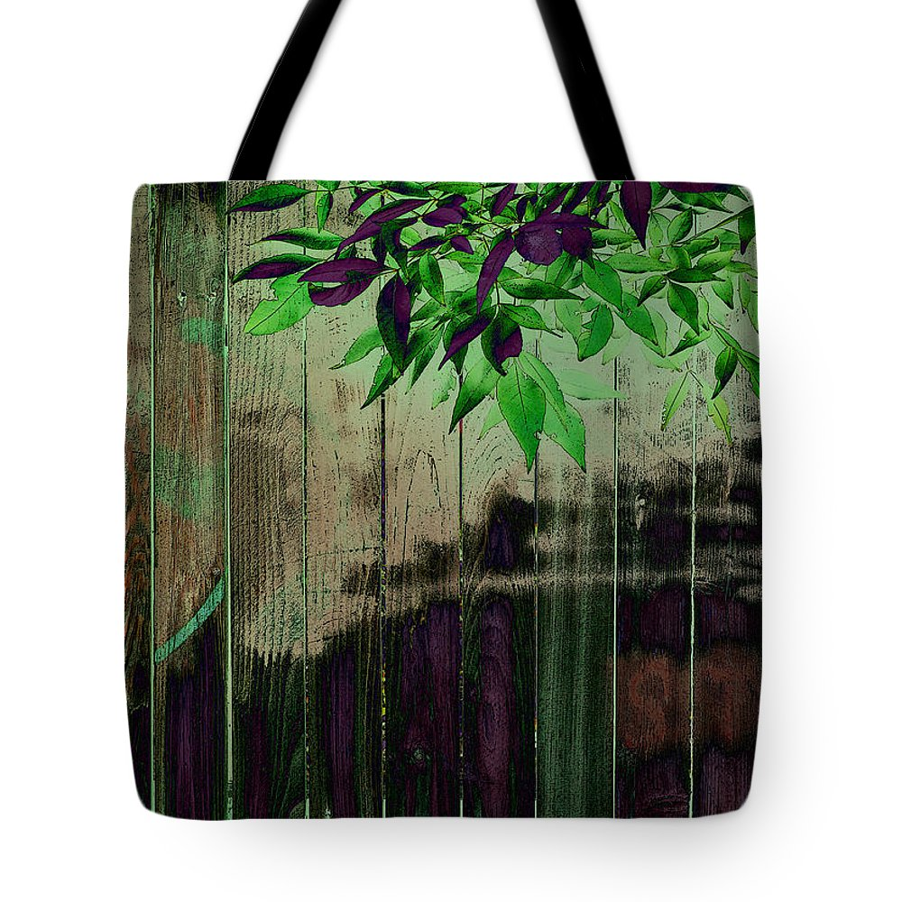 Tote Bag featuring the photograph Green Leaves by David Pantuso