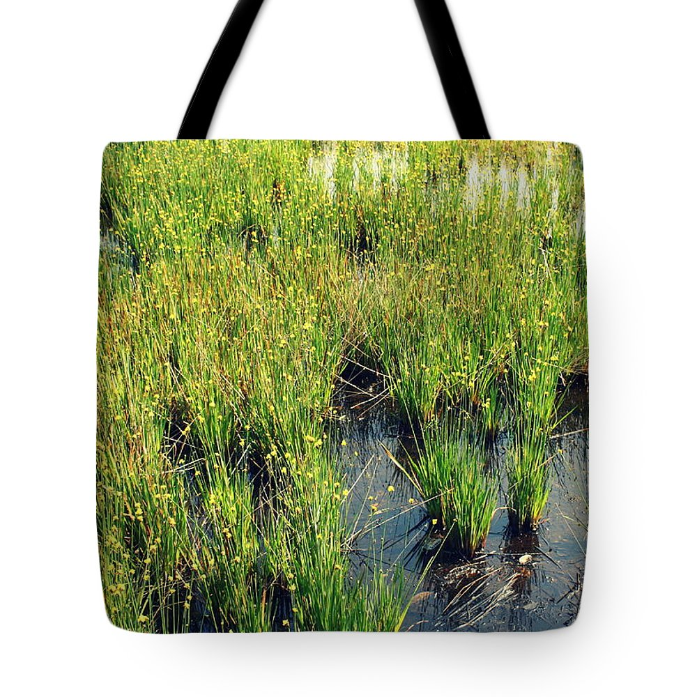 Agriculture Tote Bag featuring the photograph Green Natural Beauty by Yajhyara Maria