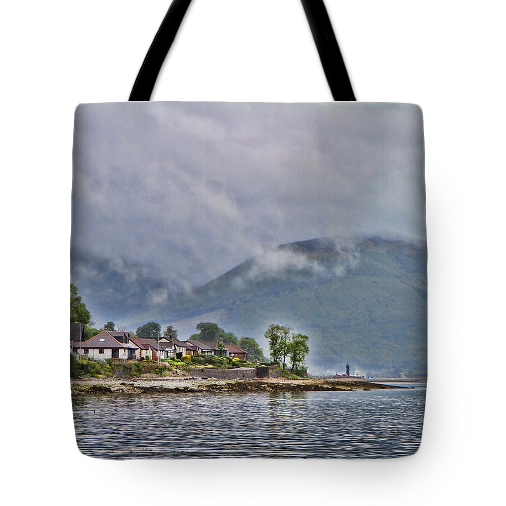 Glasgow Tote Bag featuring the photograph Greenock Scotland by James Gordon Patterson