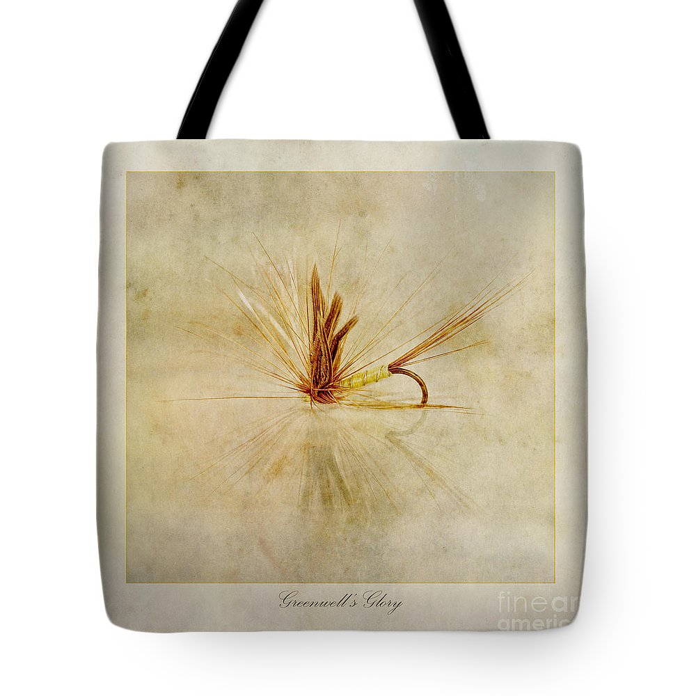 Trout Fishing Fly Tote Bag featuring the photograph Greenwells Glory by John Edwards