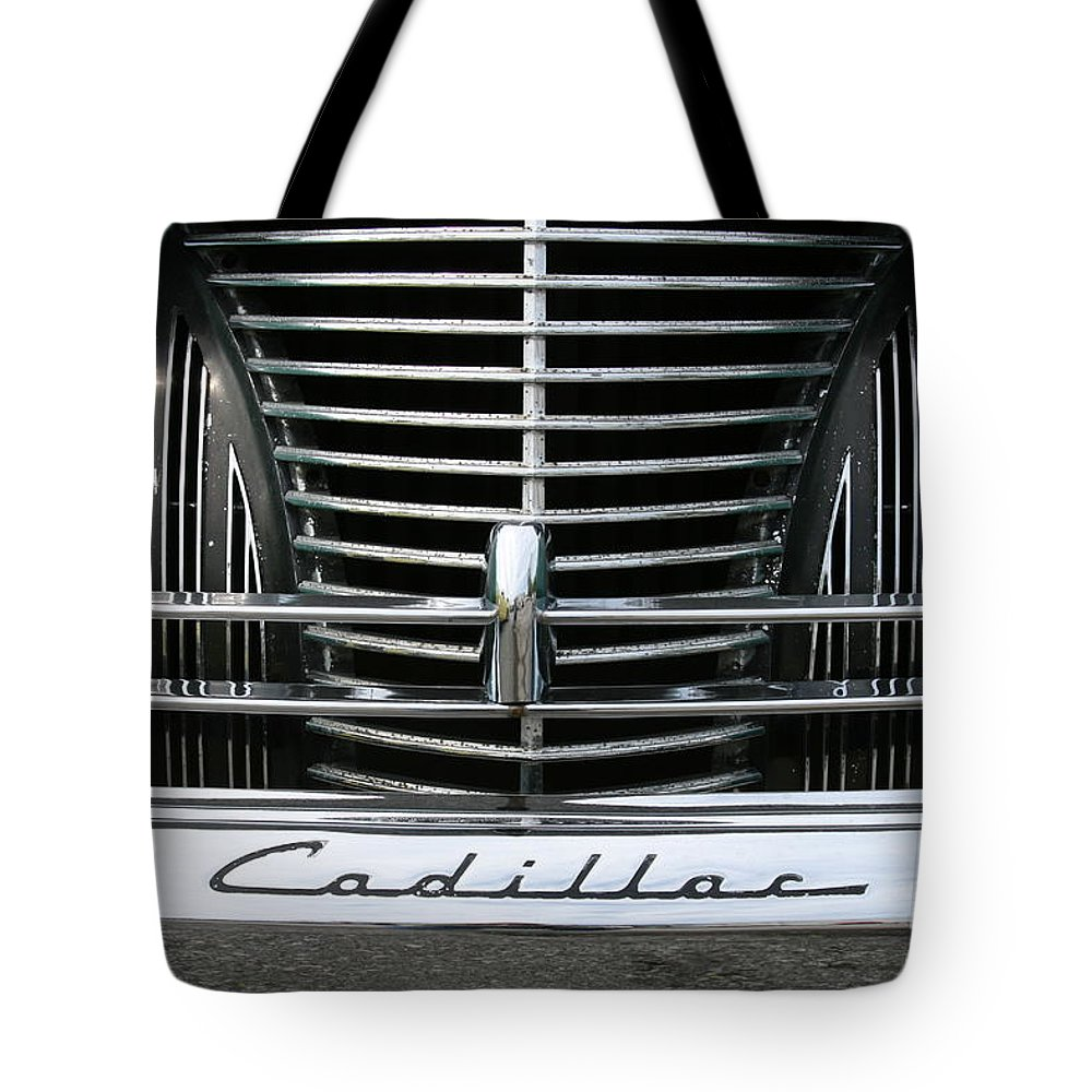 Cars Tote Bag featuring the photograph Grillwork by Crystal Nederman