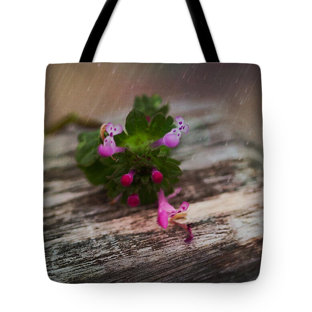 Wood Tote Bag featuring the photograph Growing Like Weeds by Sheryl Bergman