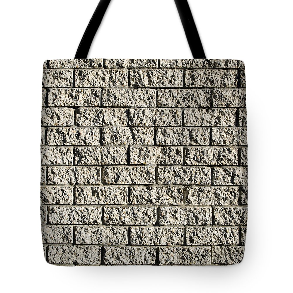 Apartment Building Tote Bag featuring the photograph Grunge Wall by Tim Hester