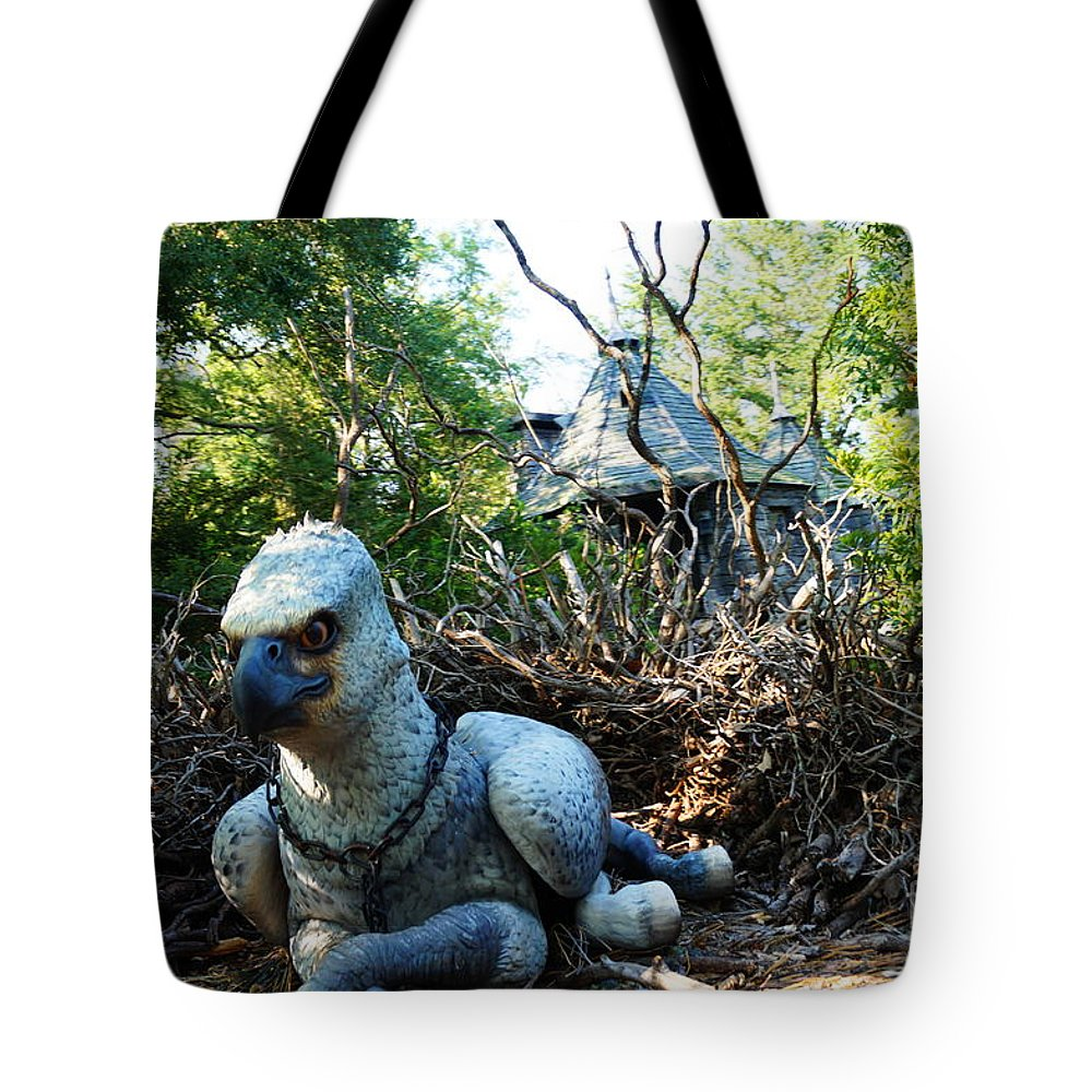 Tote Bag featuring the photograph Gryffin by Ronald Chacon
