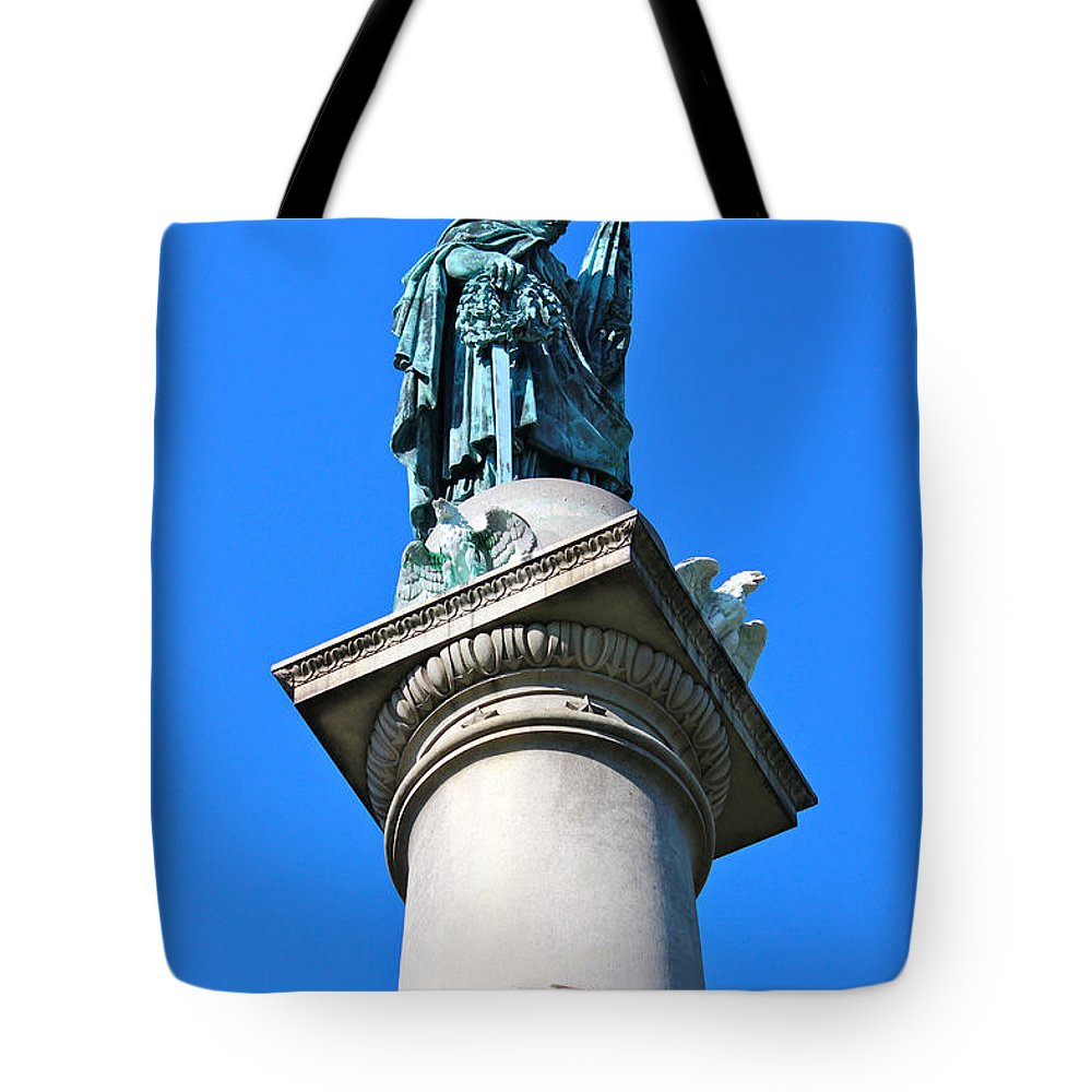 Boston Tote Bag featuring the photograph Guard Duty by Beverly Tabet