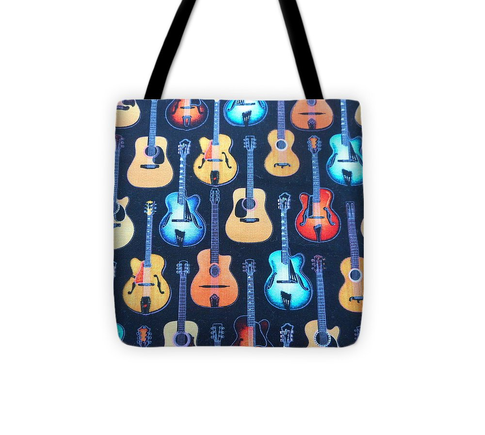 Guitar Tote Bag featuring the photograph Guitar Heaven by Diannah Lynch