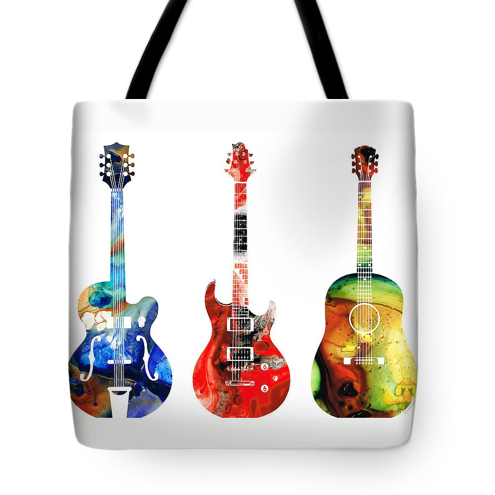 Rock And Roll Music Tote Bags