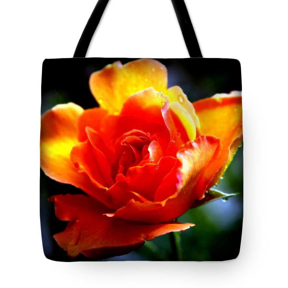 Gypsy Rose Tote Bag featuring the photograph Gypsy Rose by Karen Wiles