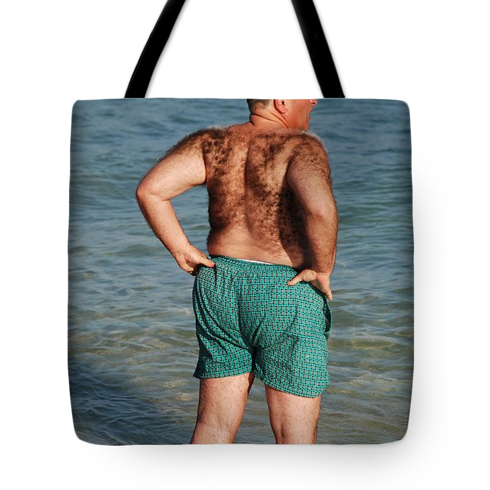 Man Tote Bag featuring the photograph Hairy Ocean by Rob Hans
