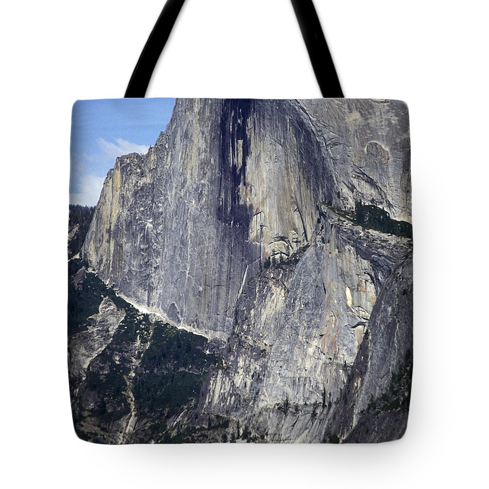 Half Dome Tote Bag featuring the photograph Half Dome by Paul W Faust - Impressions of Light