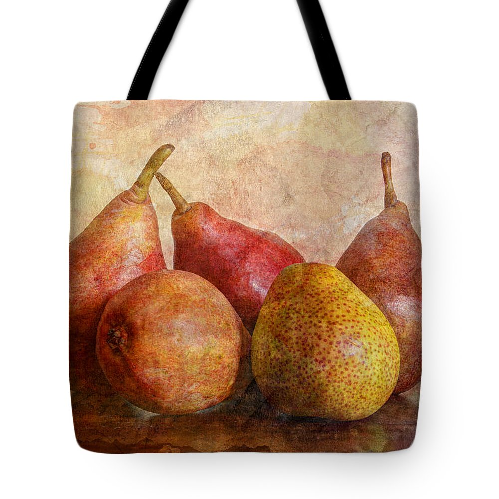 Apple Tote Bag featuring the photograph Half Of Ten by Heidi Smith
