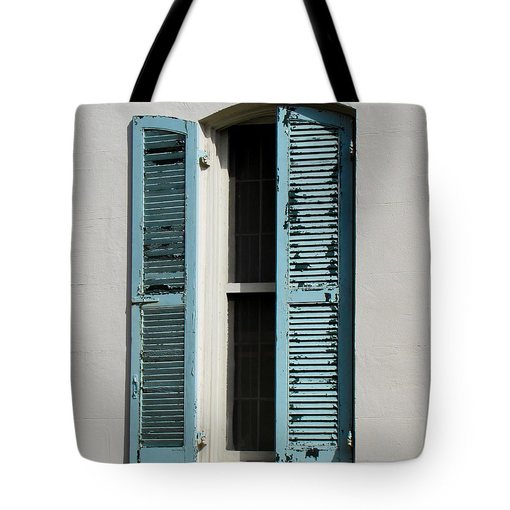 Window Tote Bag featuring the photograph Half Open by J Havnen