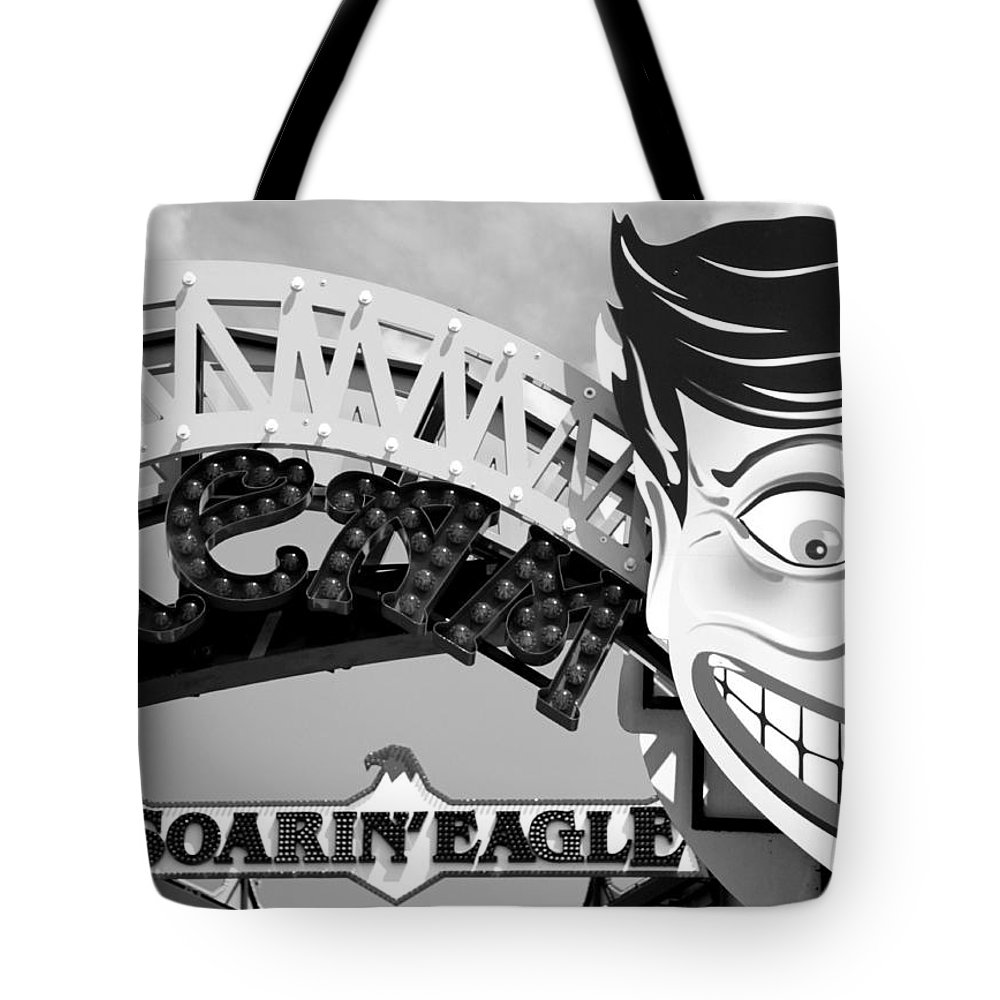 Half Tote Bag featuring the photograph Half Smiled by Valentino Visentini