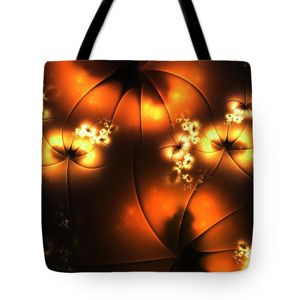 Computer Tote Bag featuring the digital art Halloween by Anastasiya Malakhova