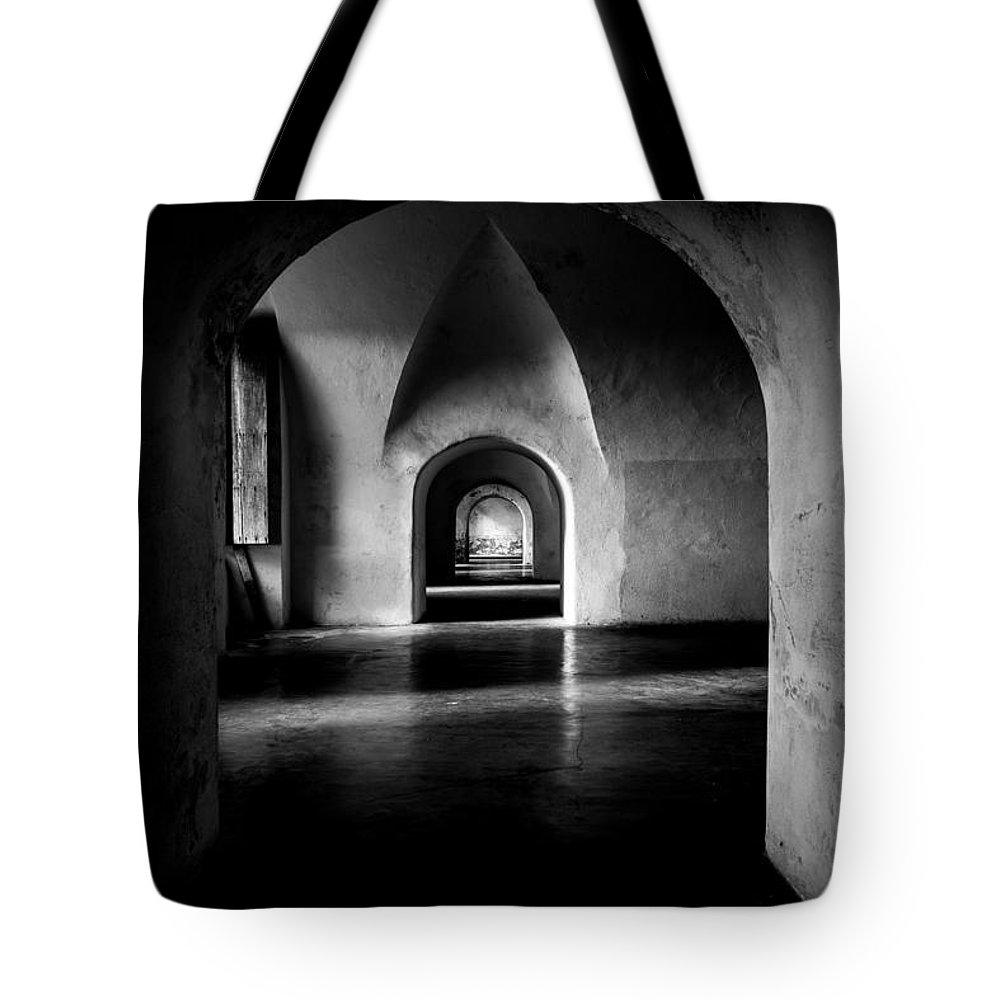 Puerto Rico Tote Bag featuring the photograph Halls by Kristopher Schoenleber