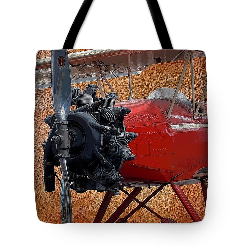 Hamilton Standard Propeller Tote Bag featuring the photograph Hamilton Standard Propeller by Liane Wright