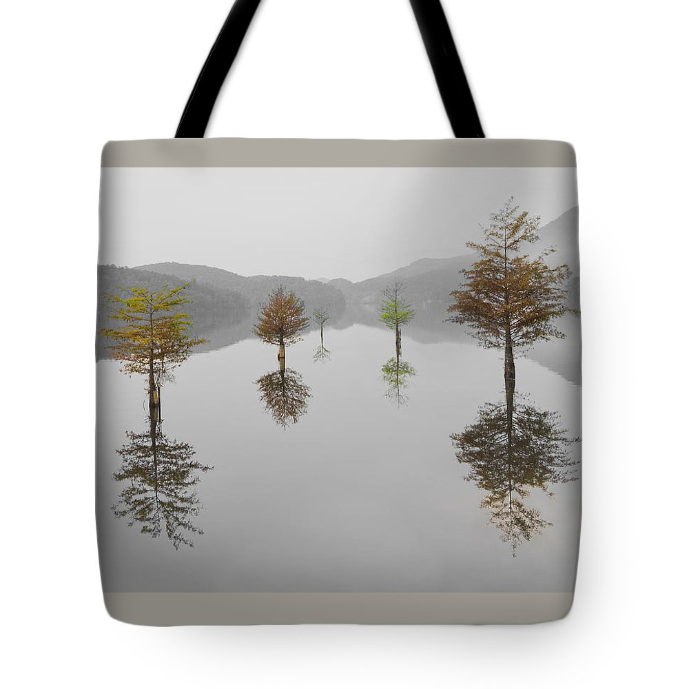Appalachia Tote Bag featuring the photograph Hanging Garden by Debra and Dave Vanderlaan