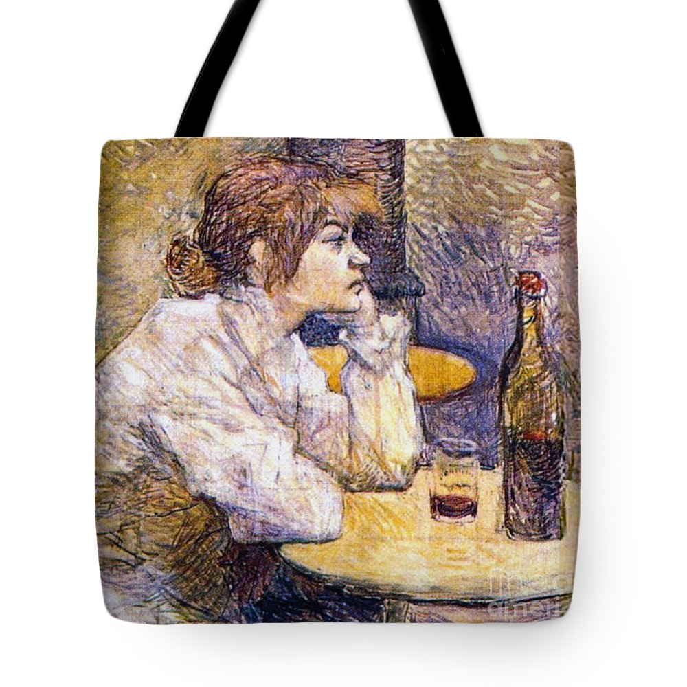 Hangover 1888 Tote Bag featuring the photograph Hangover 1888 by Padre Art